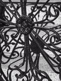 Wrought iron decoration Stock Image