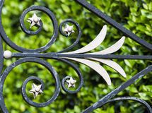 Wrought iron decoration Stock Images