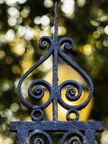Wrought iron decoration Stock Photos