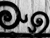 Wrought Iron Detail Royalty Free Stock Image