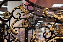 Wrought iron Stock Photo