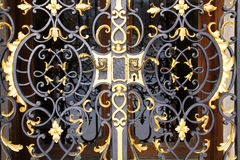 Wrought iron door Royalty Free Stock Photo