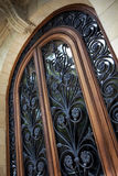 Wrought iron door Royalty Free Stock Images