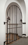 Wrought iron doors Royalty Free Stock Image