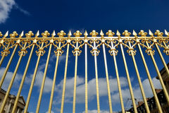 Wrought-iron fence Royalty Free Stock Images