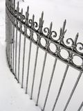 Wrought-Iron Fence Royalty Free Stock Image