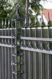 Wrought iron fence Royalty Free Stock Image