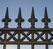 Wrought iron Fence Stock Photography