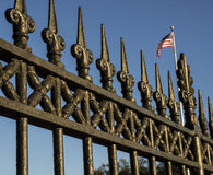 Wrought iron Fence Royalty Free Stock Photo