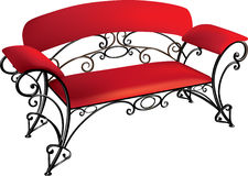 Wrought-iron furniture Royalty Free Stock Photos