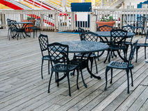 Wrought iron furniture Stock Photography