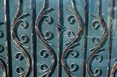 Wrought iron gate Stock Image