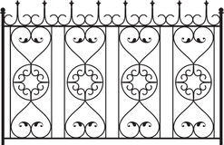 Wrought Iron Gate. Door Design Royalty Free Stock Photography