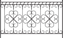 Wrought Iron Gate Stock Image