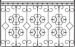 Wrought Iron Gate Stock Photos
