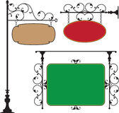 Wrought Iron Gate. Door Design Royalty Free Stock Photos
