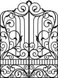 Wrought Iron Gate, Door Stock Photos