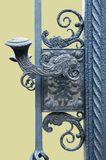 Wrought iron gates Royalty Free Stock Photo