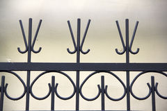 Wrought iron gates. Stock Images