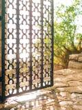 Wrought iron gates Handmade Royalty Free Stock Images