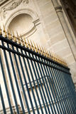Wrought iron grill Stock Photography