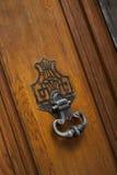 Wrought iron knocker Royalty Free Stock Photos