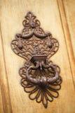 Wrought iron knocker royalty free stock image