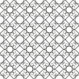 Wrought iron pattern Royalty Free Stock Image