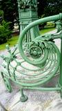 Wrought iron railing Royalty Free Stock Photography