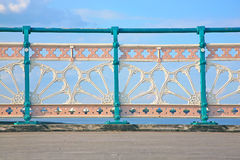 Wrought iron railings Royalty Free Stock Photography