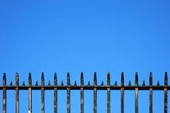 Wrought Iron Railings Background Stock Images