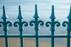 Wrought Iron railings Royalty Free Stock Image