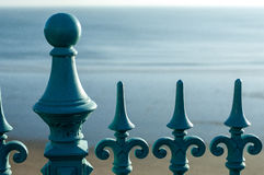 Wrought Iron railings Royalty Free Stock Photos