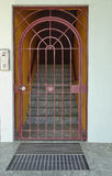 Wrought Iron Security Gate. Stock Image