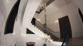 Wrought iron staircase Stock Image