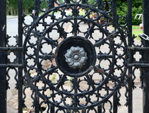 Wrought ironwork Stock Photography