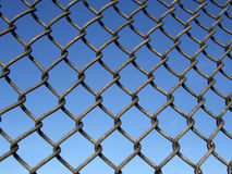 Wrought metal fence Royalty Free Stock Photo