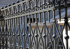 wrought staketjärn royaltyfria bilder