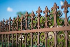 wrought staketjärn Royaltyfri Foto