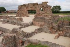 Wroxeter破坏了罗马浴房子 图库摄影
