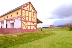 Wroxeter Replica Roman Villa Stock Photography