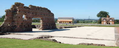 Wroxeter Roman City Images libres de droits