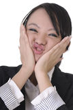 Wry face Royalty Free Stock Photo