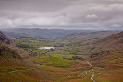 Wrynose Pass and Langdale Stock Photo