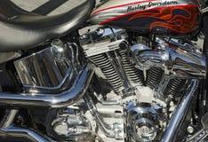 Wrzasku Orła 103 Motocykl Fotografia Royalty Free