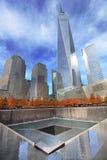 Września 11 pomnik, world trade center Zdjęcie Royalty Free