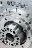 Wrzeciono dużej precyzi CNC mielenia maszyna Zdjęcia Royalty Free