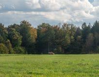 Wrzesień 11, 2001 pamiątkowy miejsce dla lota 93 w Shanksville Pennsylwania obrazy stock