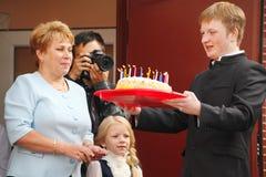 Wrzesień 1, wiedza dzień w rosjanin szkole Dzień wiedza pierwszy dzień szkoły Fotografia Royalty Free