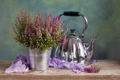 Wrzos herbata zdjęcie stock